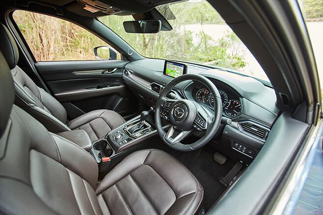 Mazda CX-5 Akera Turbo interior