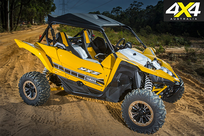 Yamaha YXZ1000R side