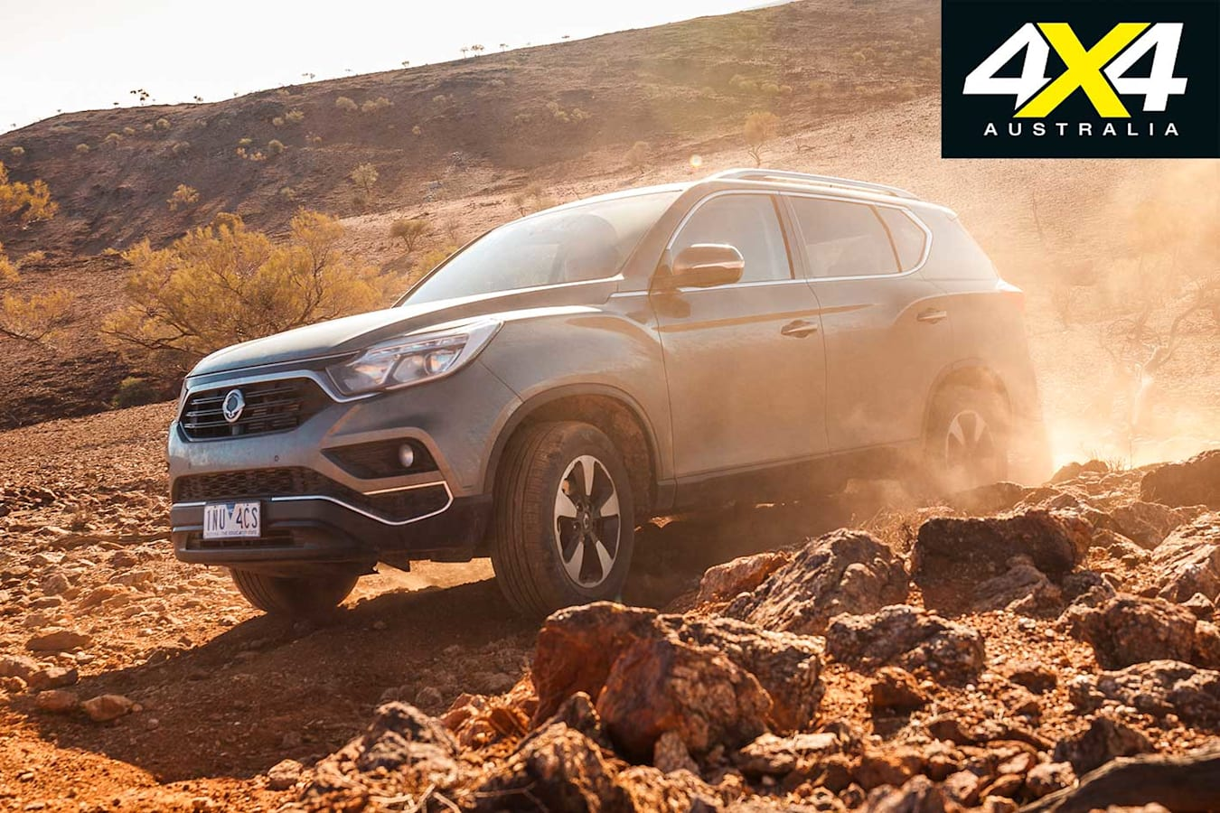 2019 Ssang Yong Rexton ELX Off Road Capability Jpg