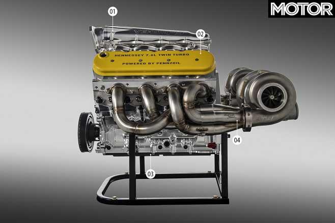 Hennessey Venom F 5 Fury Engine Detailed Jpg