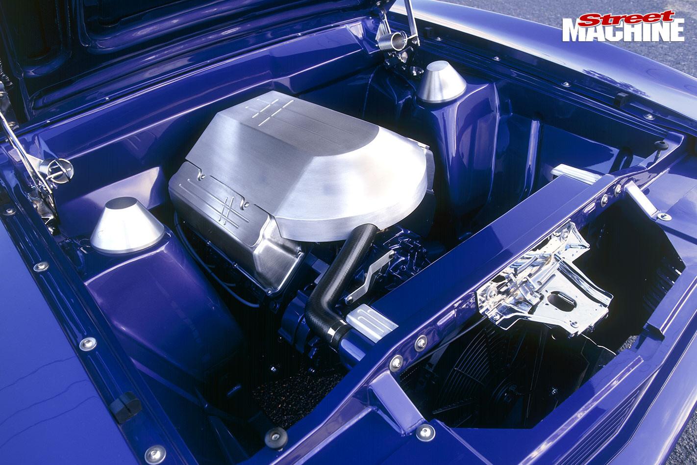 Ford Falcon XC engine bay