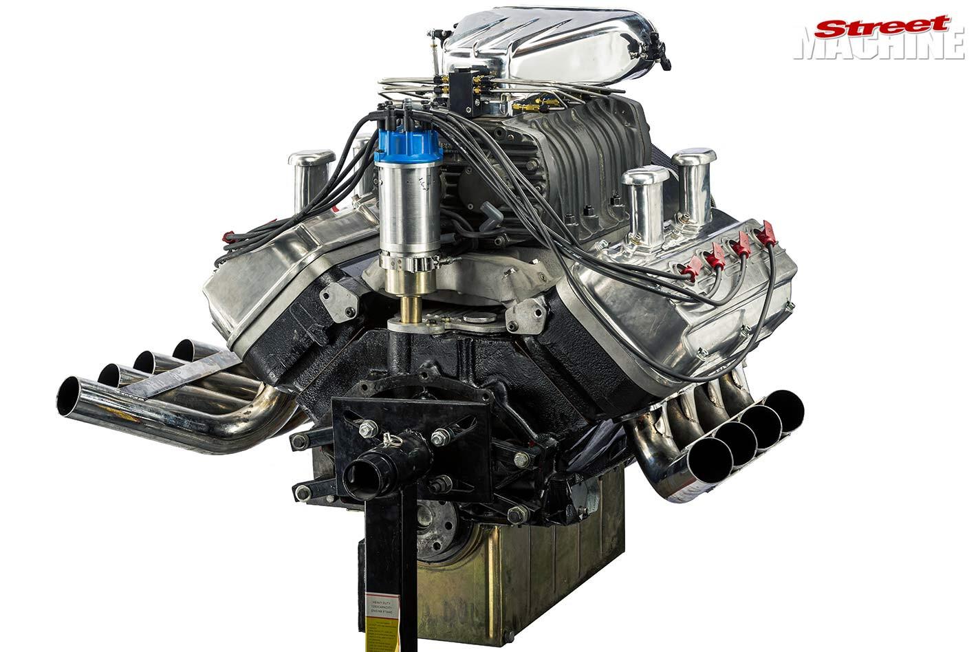 blown 392 Chrysler Hemi