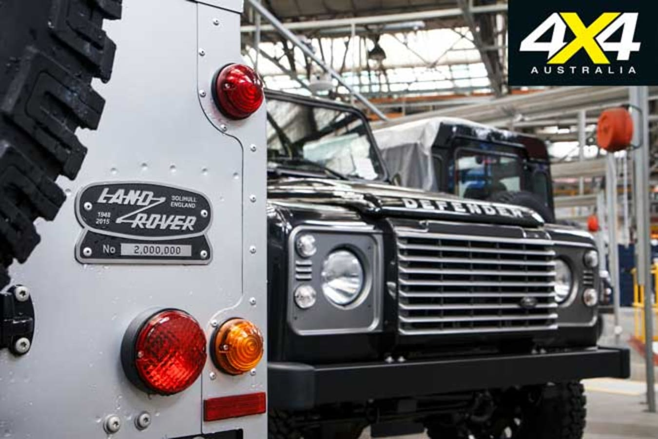 2 Millionth Land Rover Defender Jpg
