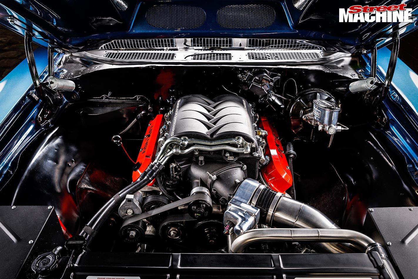 Chevelle SS engine bay
