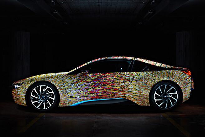 BMW Futurism Edition side