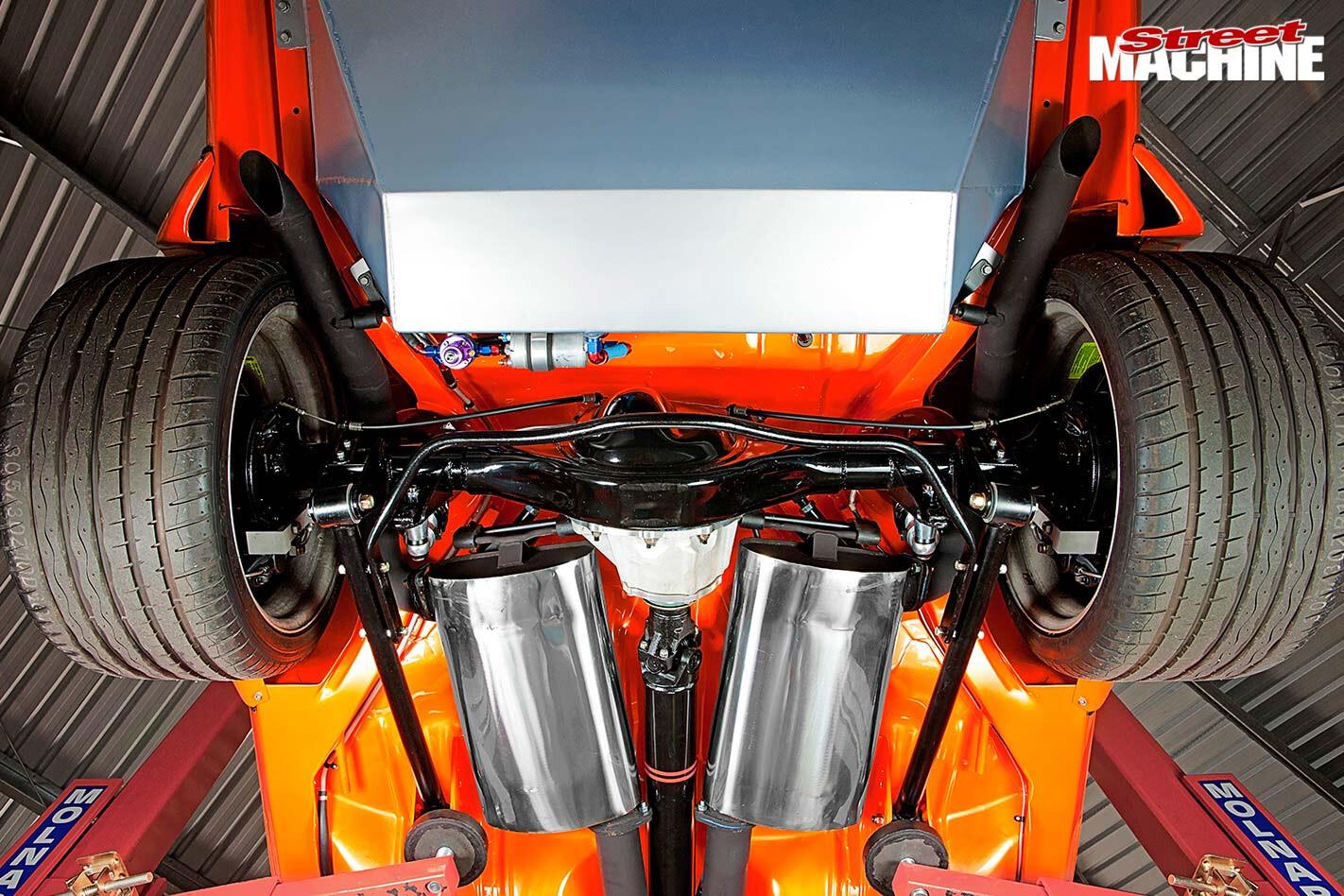 Holden Torana A9X replica underside