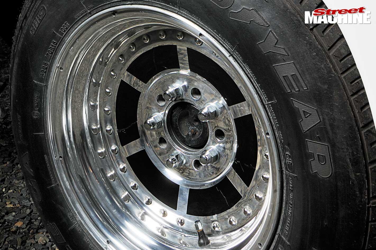 Holden FX gasser wheel