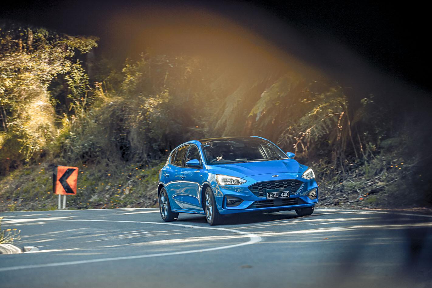 2021 Mazda 3 Skyactiv X v Ford Focus ST-Line v Hyundai i30 N-Line v Toyota Corolla ZR comparison