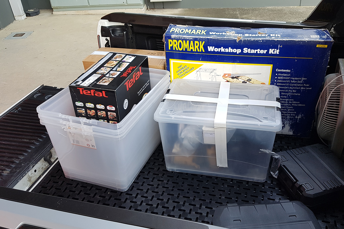 Clark Rubber Ultimate Matting: Product Test boxes
