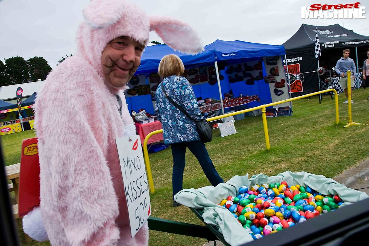 Rod Hadfield as Easter Bunny