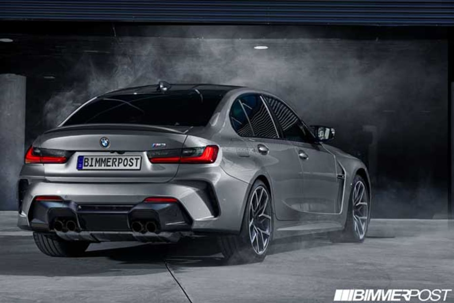 2020 BMW M 3 Render Jpg