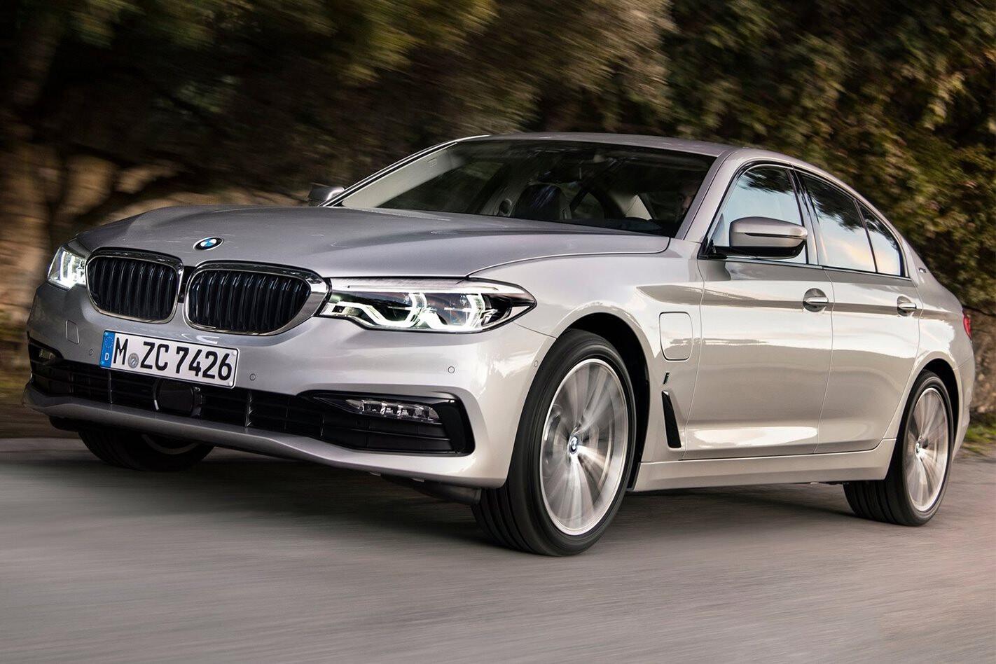BMW 530 E I Performance 2018 Front Jpg