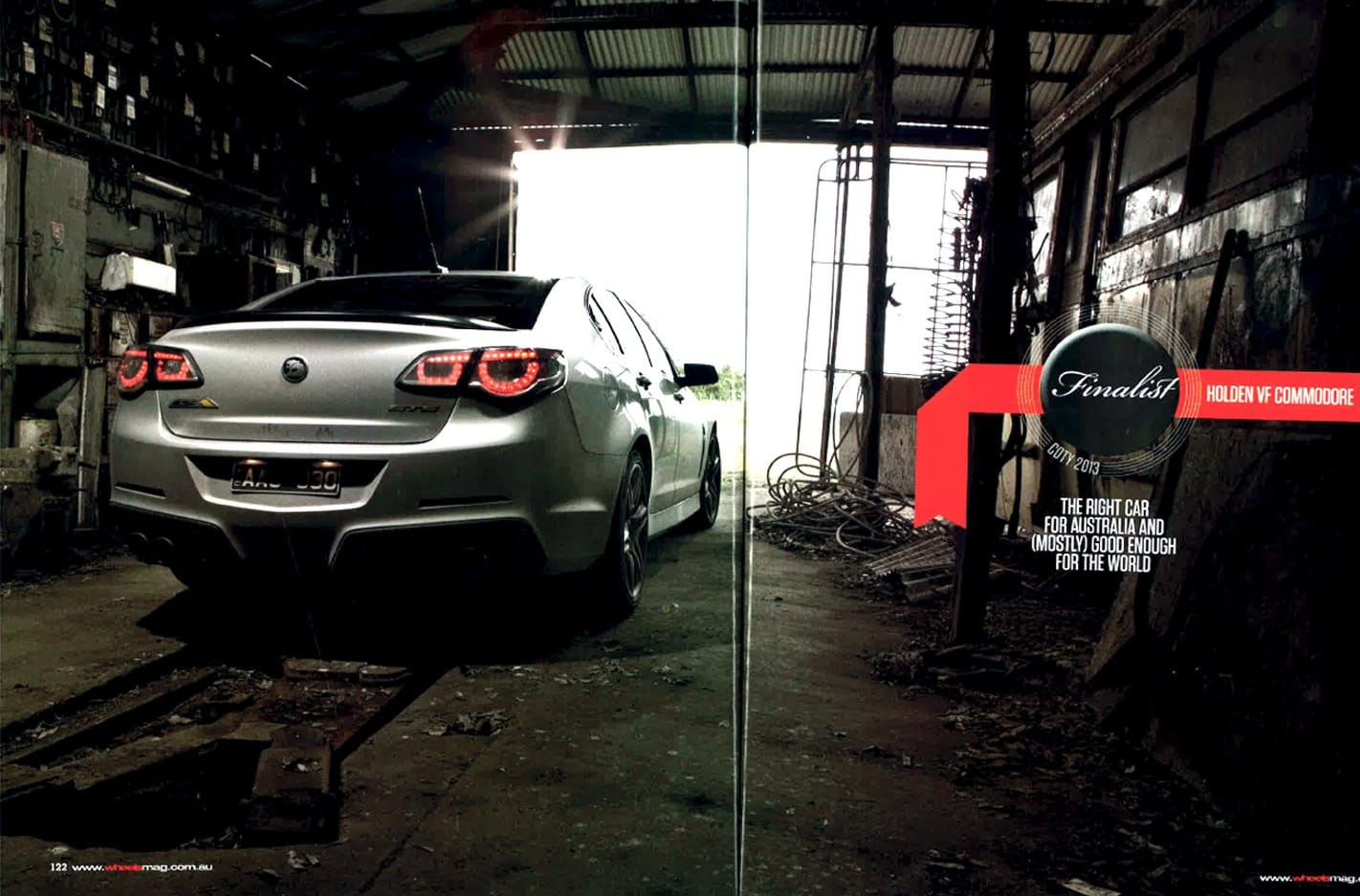 2014 Holden Commodore: Wheels Car of the Year finalist