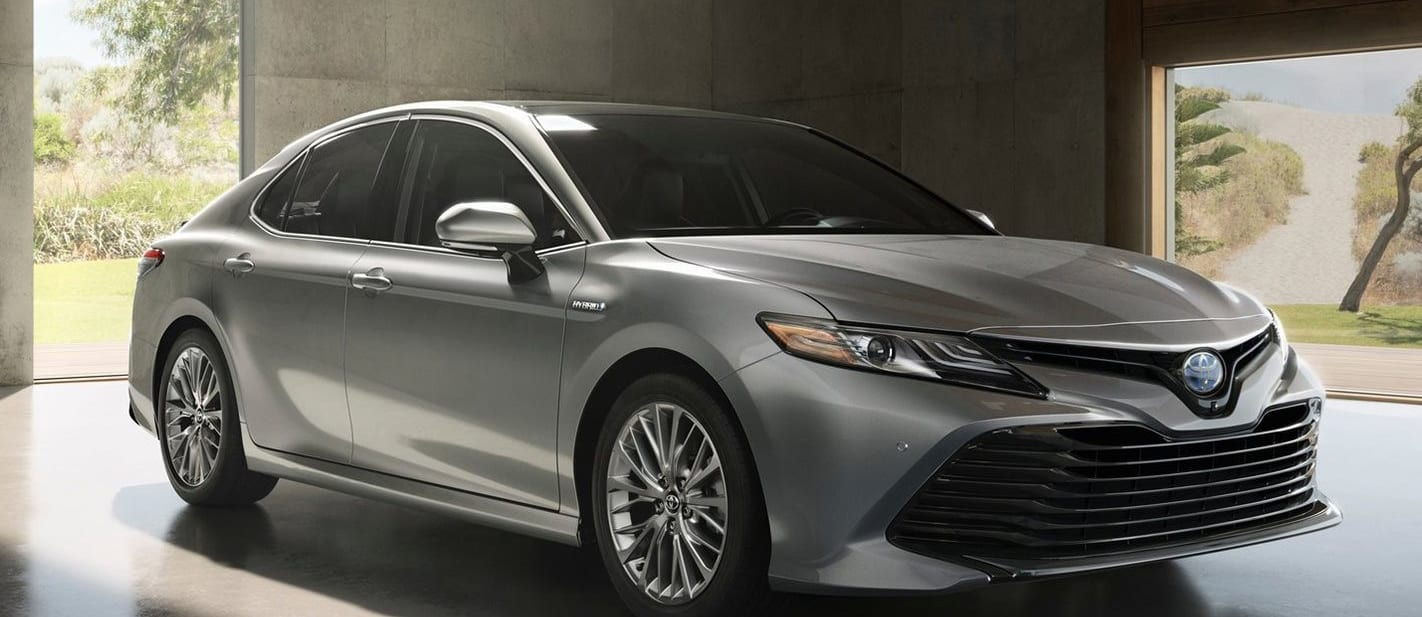 2017 Toyota Camry at Detroit Motor Show