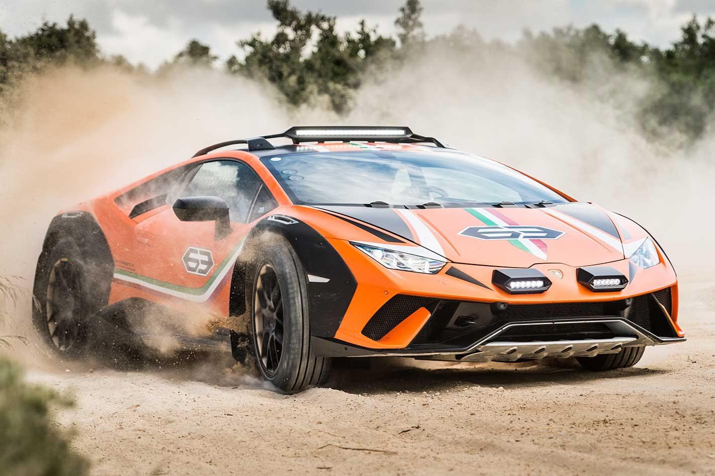 Lamborghini Huracan Sterrato concept review