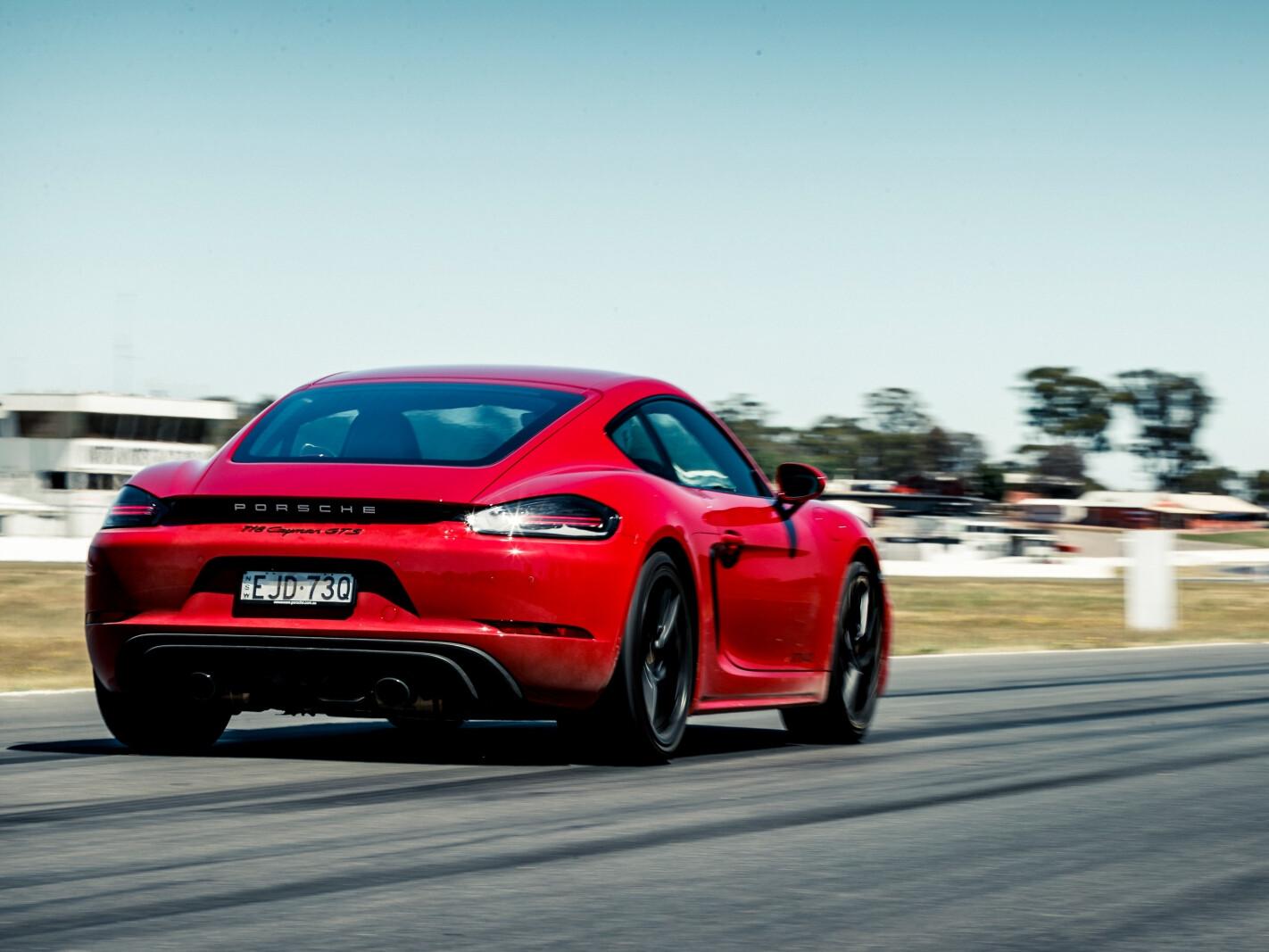 2021 Porsche Cayman GTS 4.0 manual