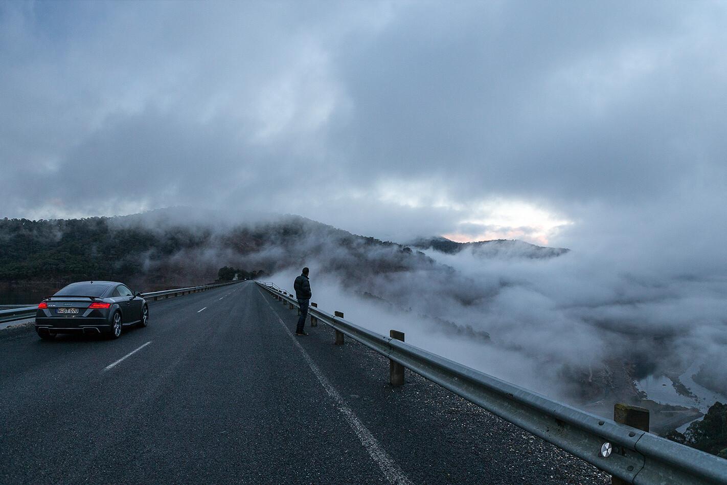 Audi TT RS Rear Dam Fog Jpg