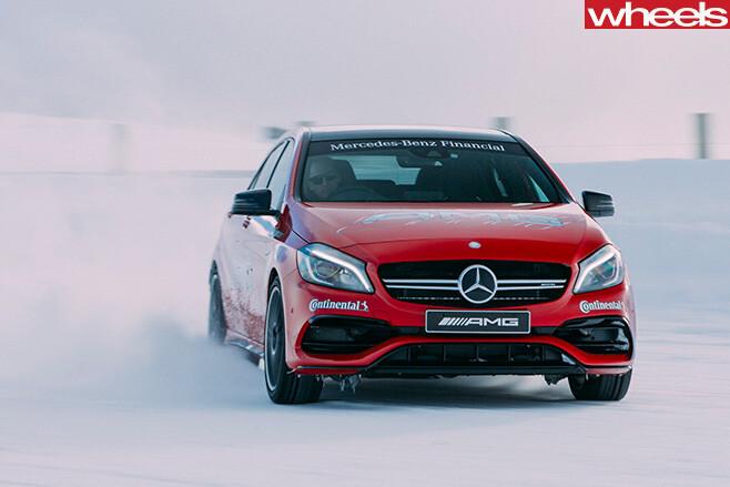 Mercedes -AMG-drifting -driver -training -A45