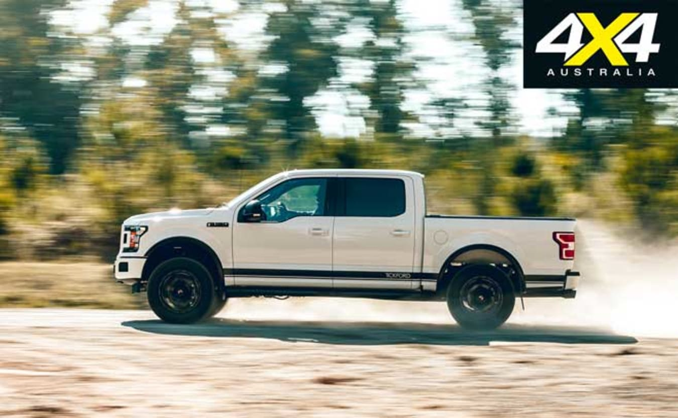2019 Tickford Ford F-150 off road performance review