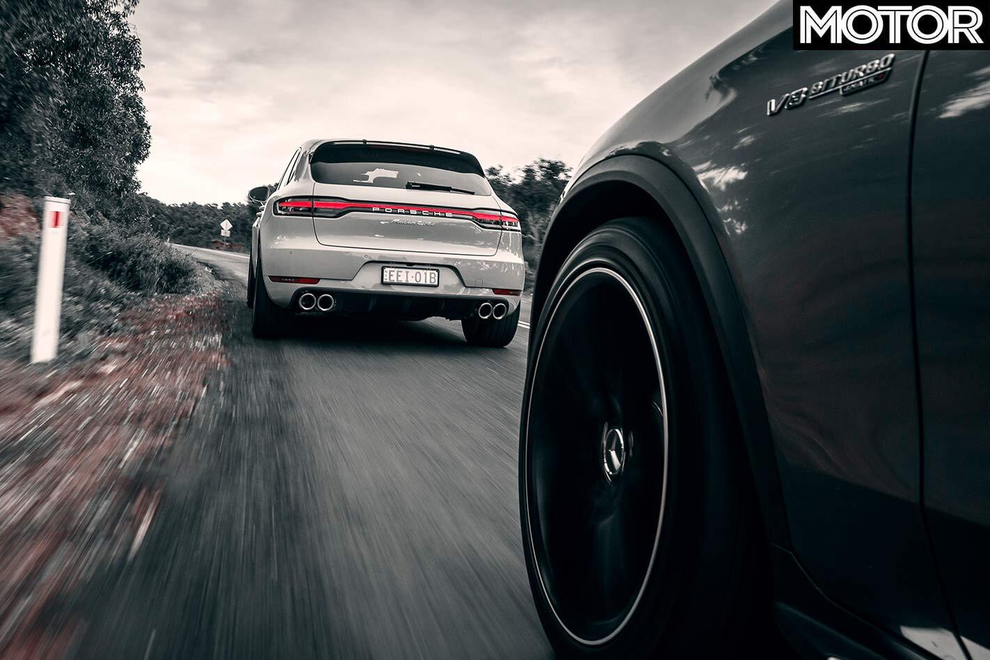 Porsche Macan Turbo v Mercedes-AMG GLC63 S