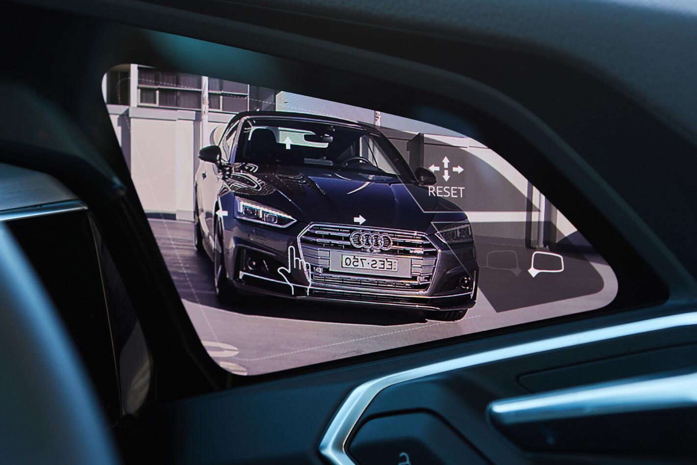 Audi Virtual Exterior Mirror