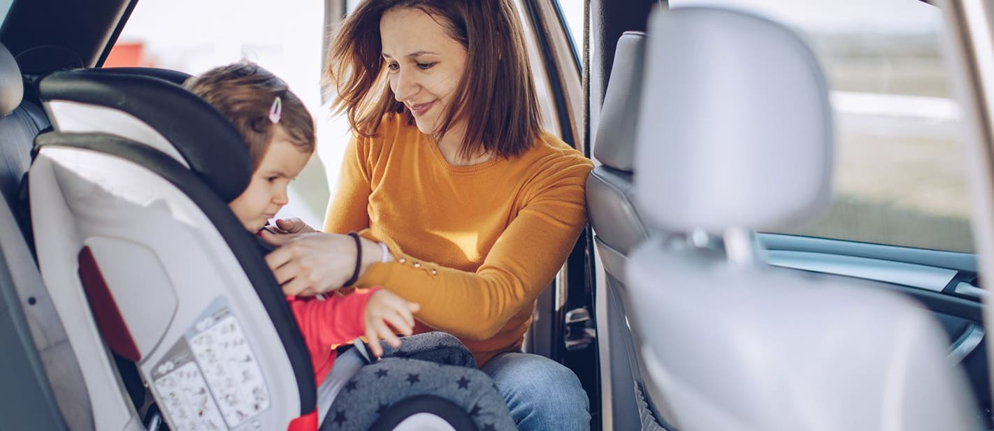 Fitting a Baby Car Seat