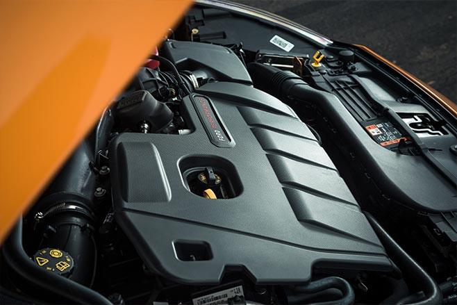 2020 Ford Focus ST  engine