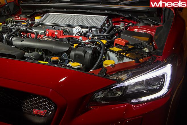 Subaru -WRX-STi -engine