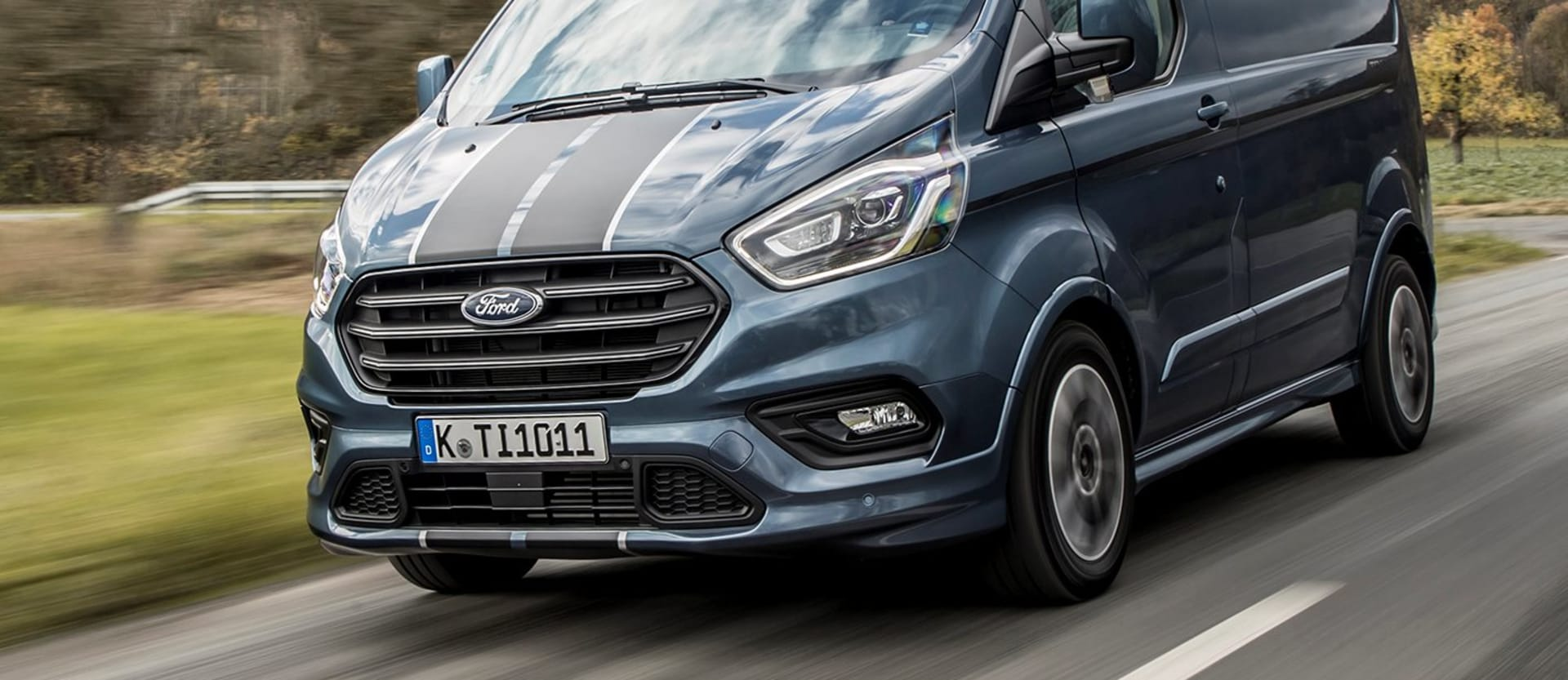2019 Ford Transit Custom Sport Front Side Action H Jpg