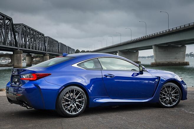 Lexus RC F Side