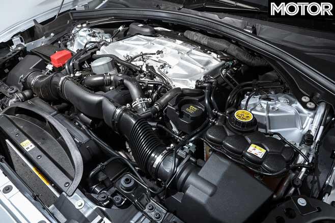 Jaguar F Pace SVR V 8 Engine Jpg