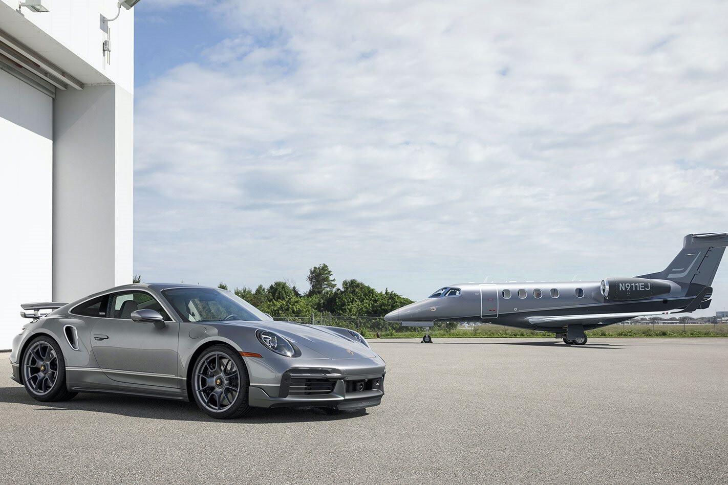 2020 Porsche 911 Turbo S Embraer
