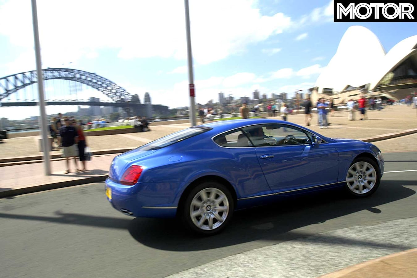 2004 Bentley Continental GT Rear Jpg