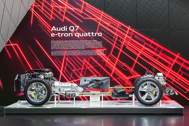 Audi Q7 drivetrain
