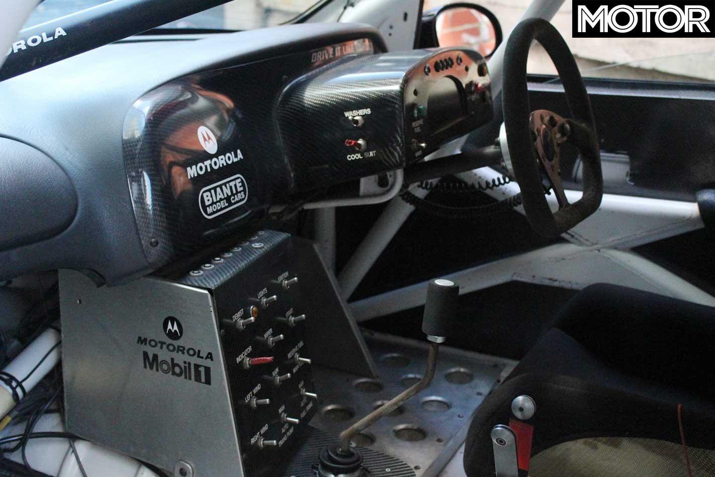 Peter Brock Autoart VX Commodore Supercar For Sale Interior Jpg