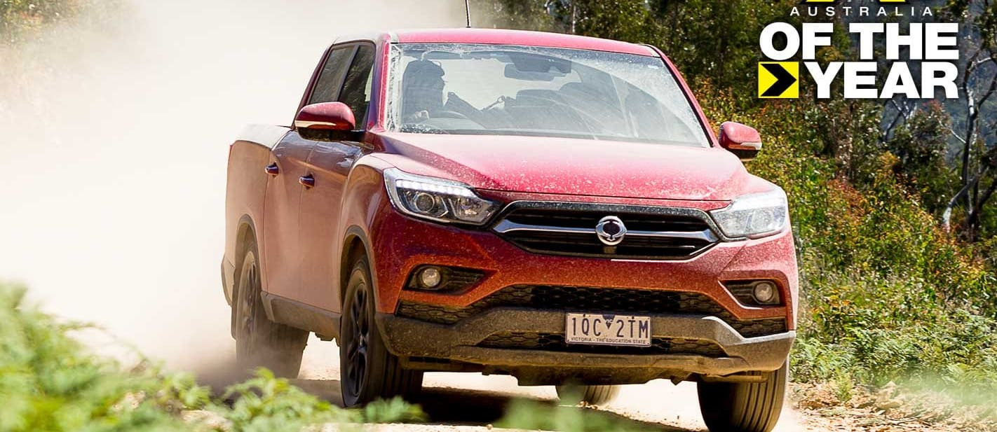 2020 4X4 Of The Year Ssangyong Musso XLV Ultimate
