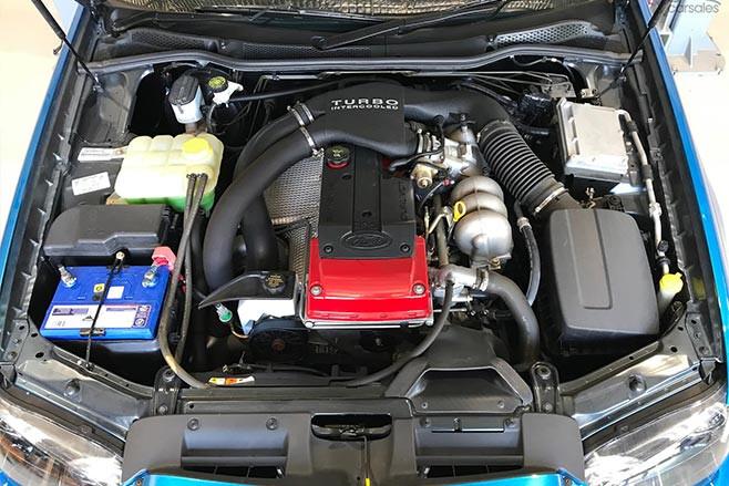 Near New Ford Falcon Xr 6 Turbo For Sale Engine Bay Jpg