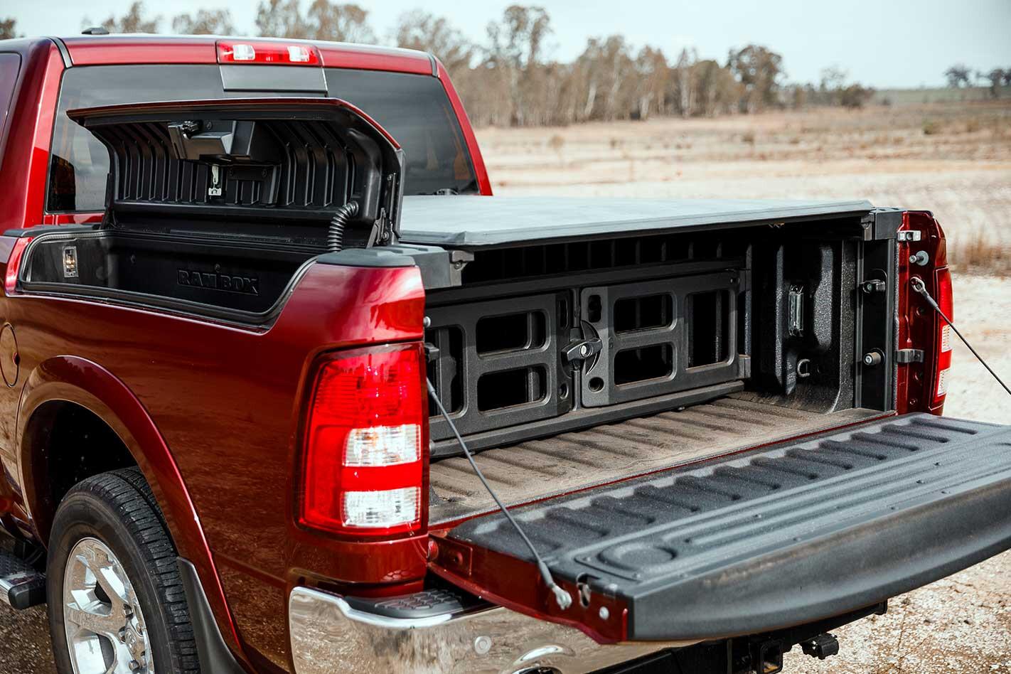 Ram 1500 rear tray