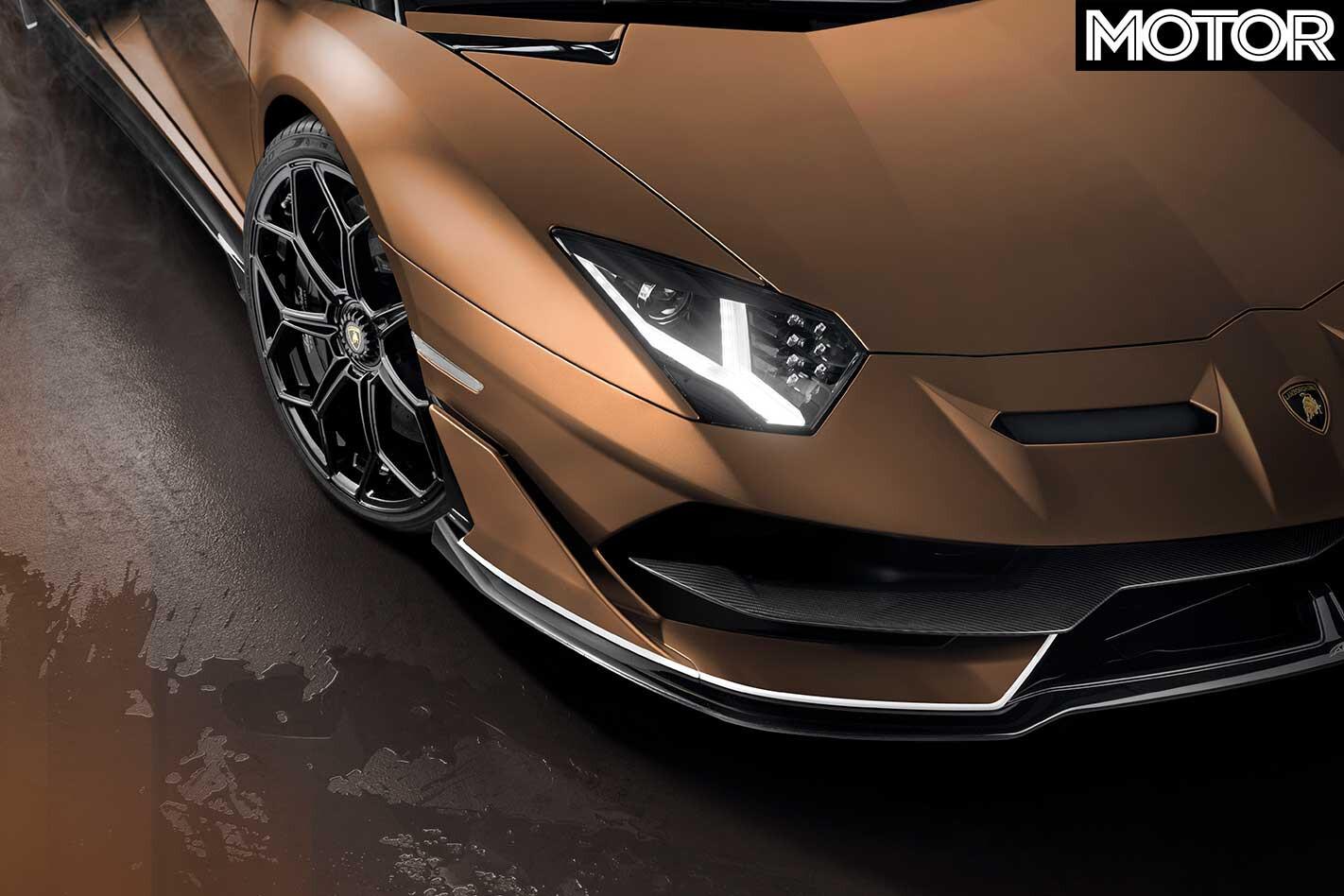 2019 Geneva Motor Show Lamborghini Aventador SVJ Roadster Headlight Jpg