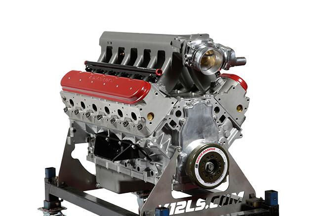 LS V12 engine