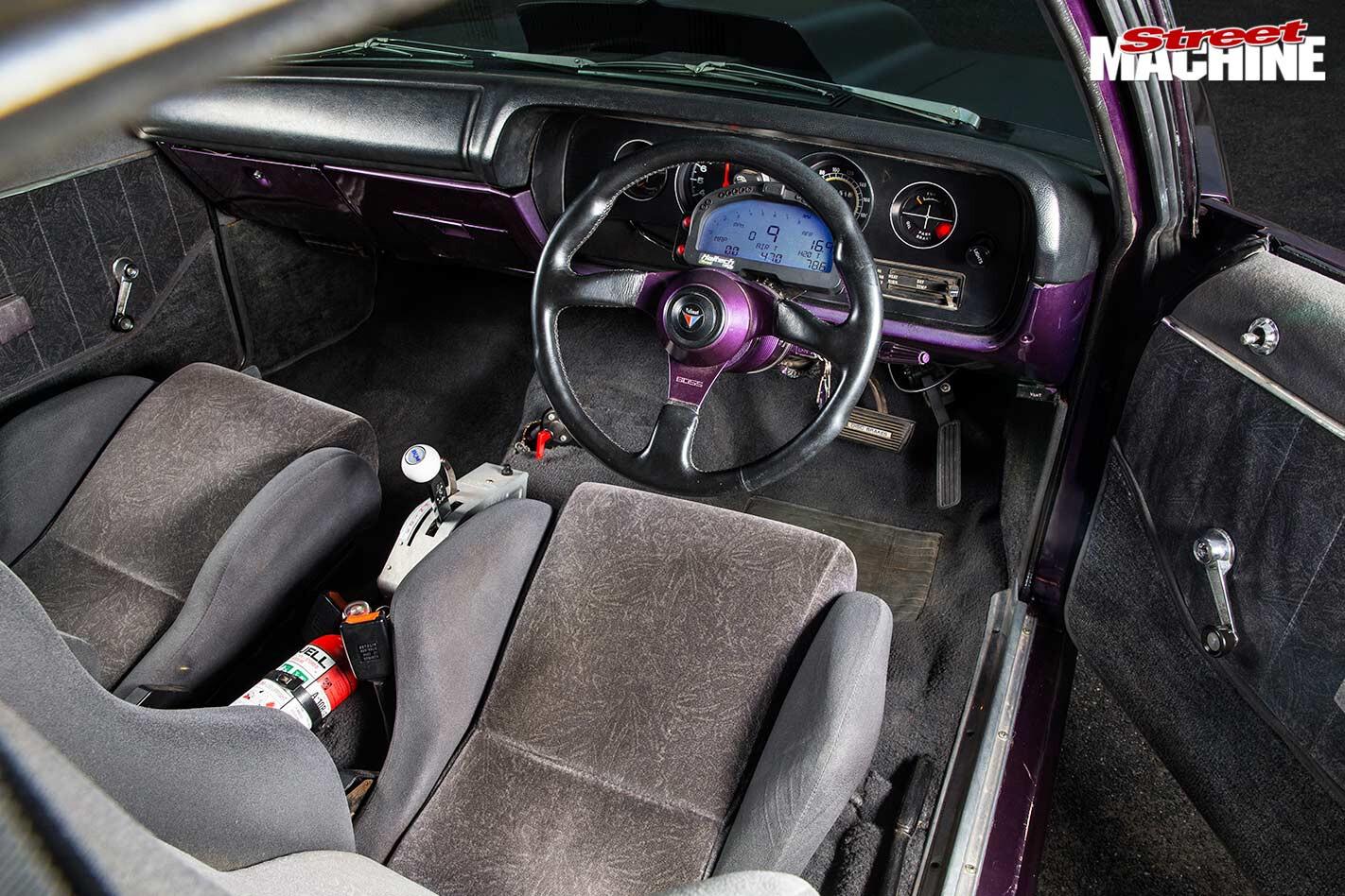 Chrysler VH Charger interior