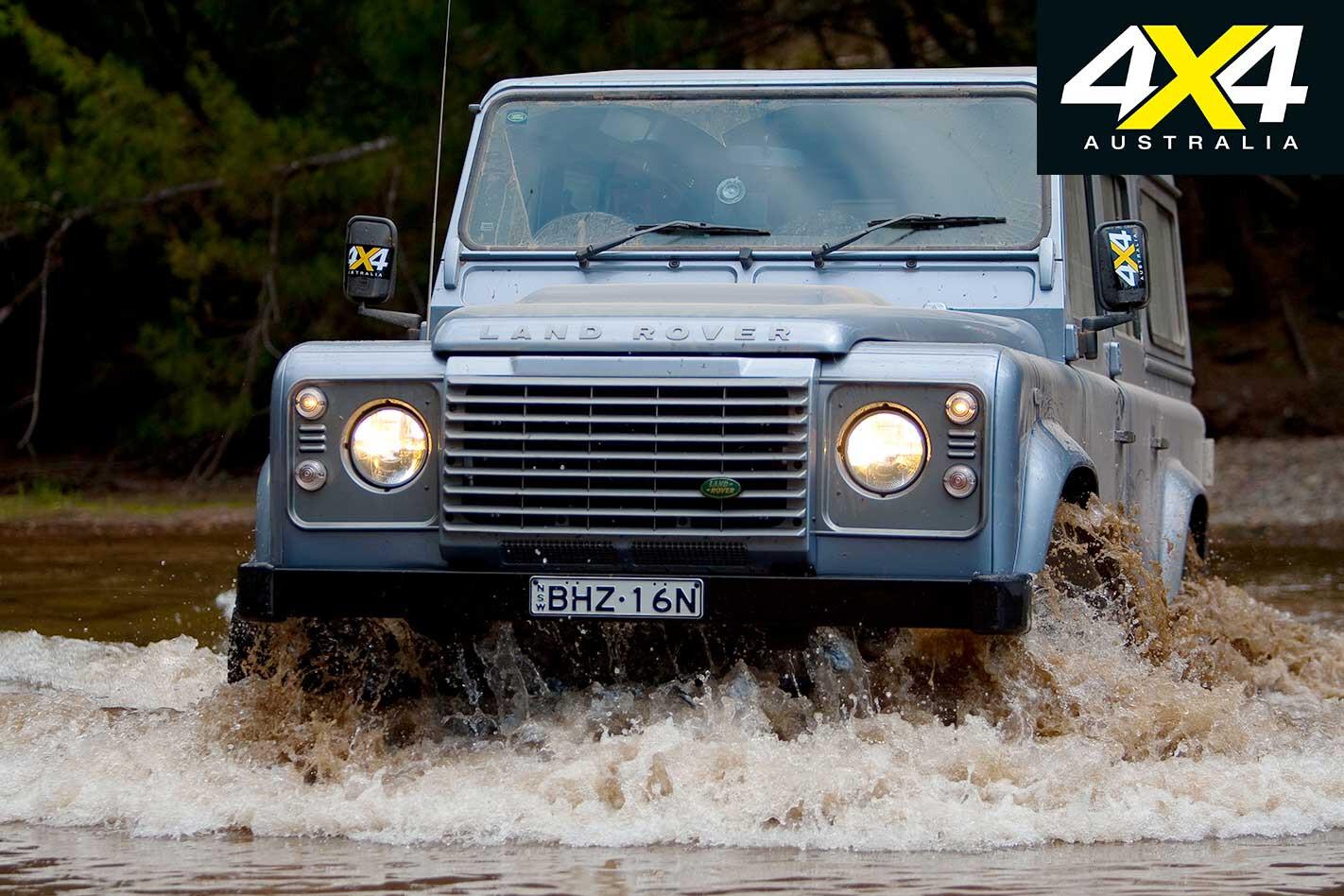 2009 Land Rover Defender Water Wading Jpg