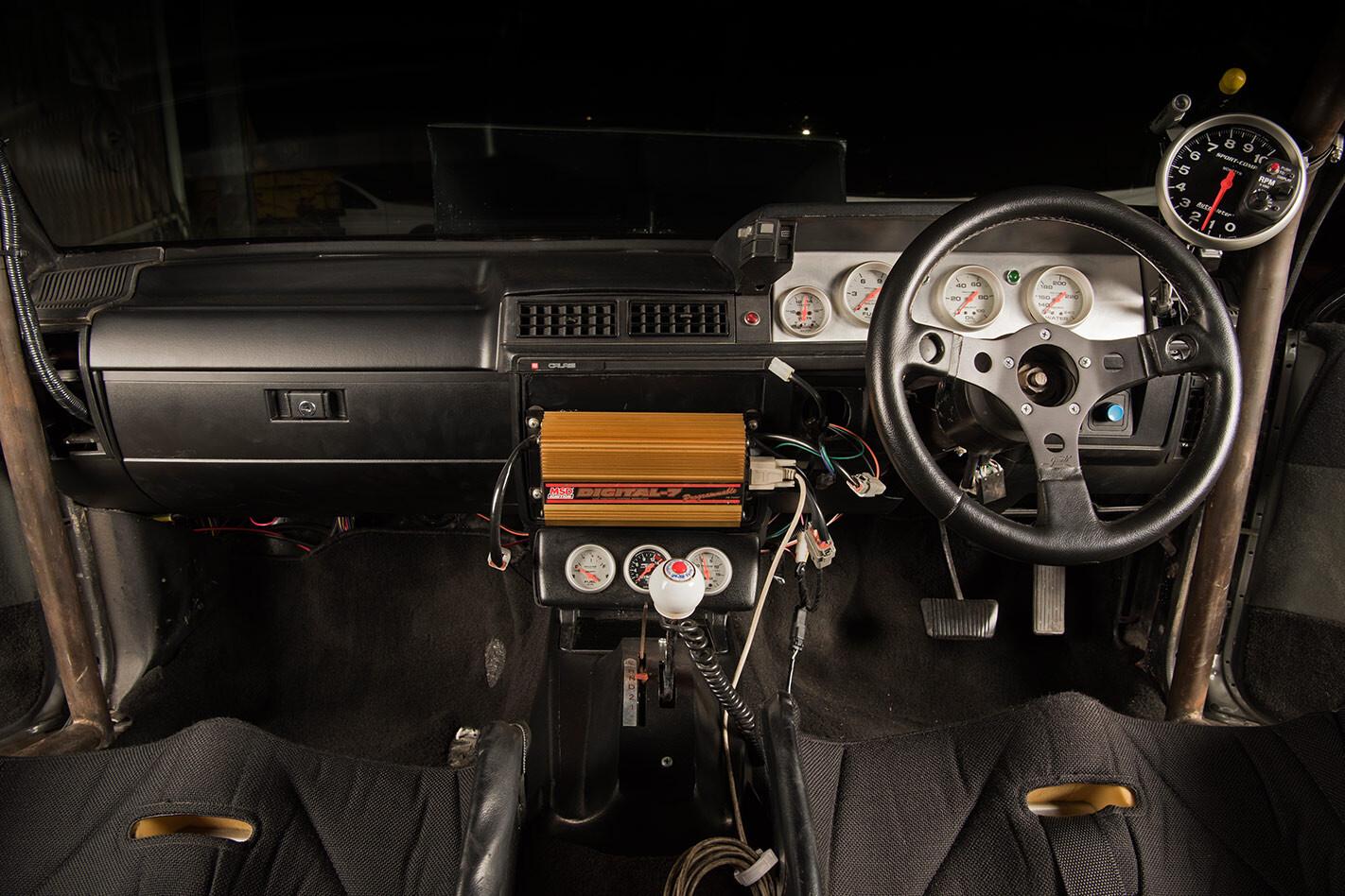 Holden VL Commodore interior