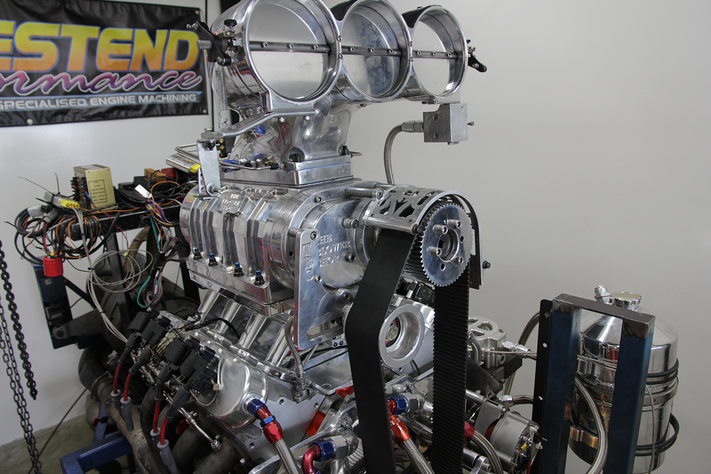 Martin Tooth's Holden one-tonner engine