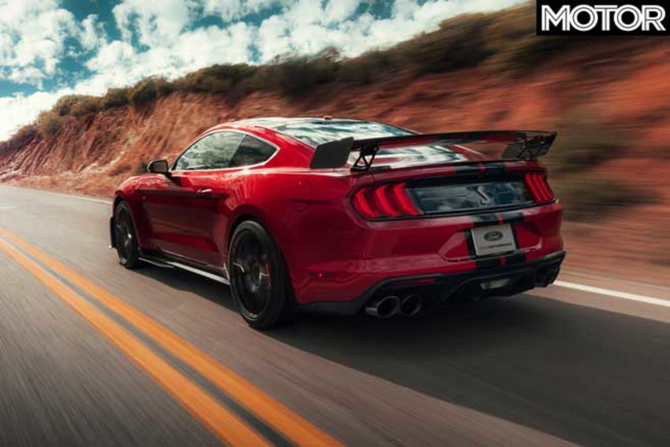 2020 Ford Mustang Shelby GT500 performance