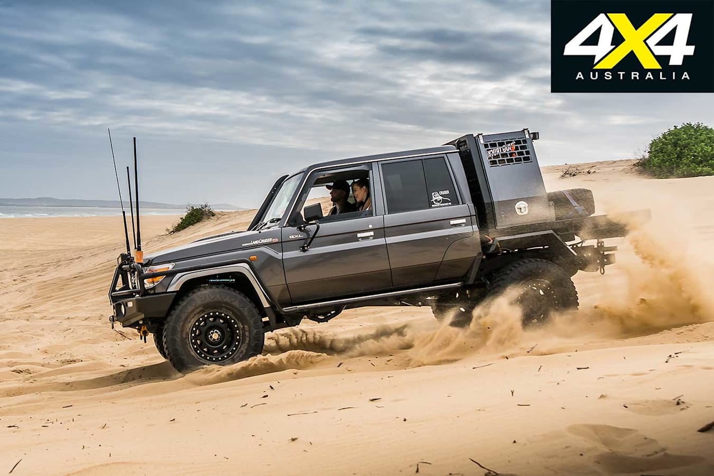 2018 Custom 4 X 4 Of The Year Finalist Toyota LC 79 Thug Truck Side Profile Performance Jpg