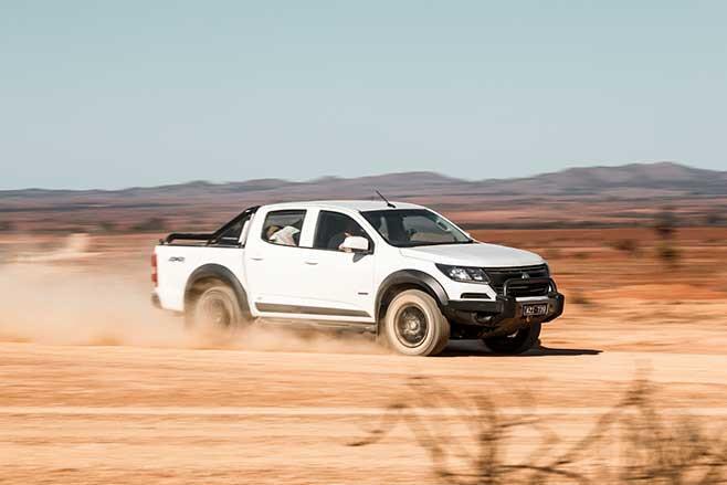 Off-road in the Flinders Ranges