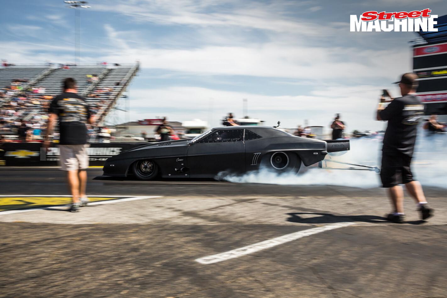 Jeff Lutz Pro Mod Camaro Drag Week