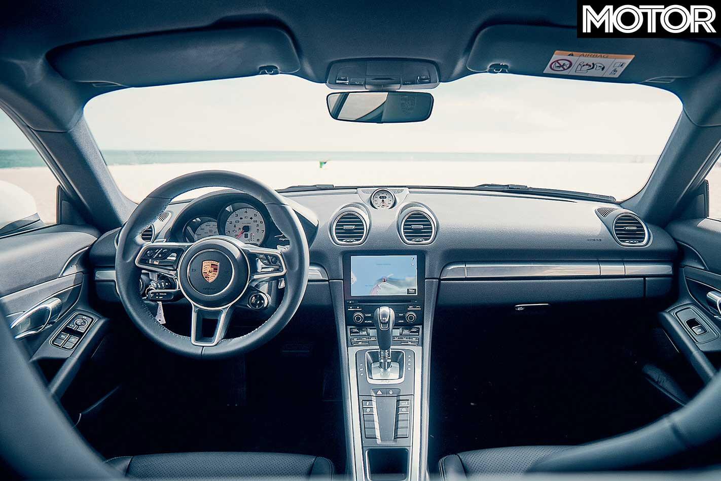 2018 Porsche 718 Cayman Interior Jpg