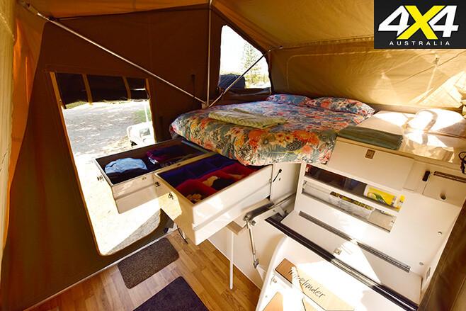 Custom camper canopy